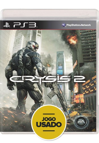 Crysis 2 (seminovo) - PS3