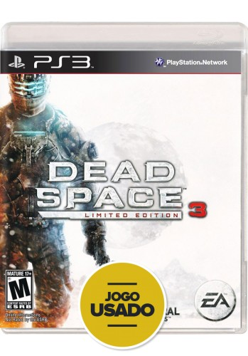 Dead Space 3 (seminovo) - PS3