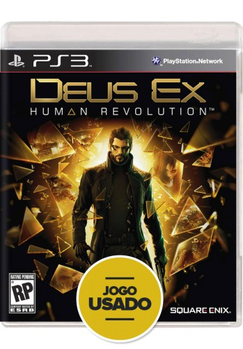 Deus Ex: Human Revolution (seminovo) - PS3
