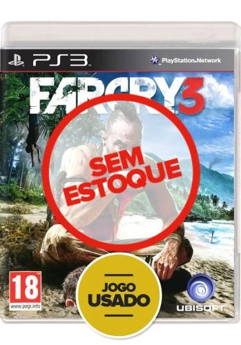 Farcry 3  (seminovo) - PS3