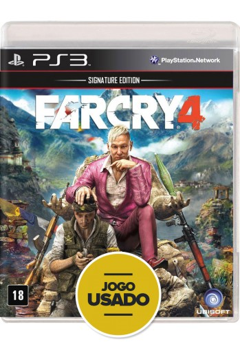 Farcry 4  (seminovo) - PS3