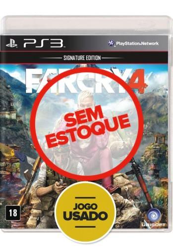 Farcry 4  (seminovo) - PS3