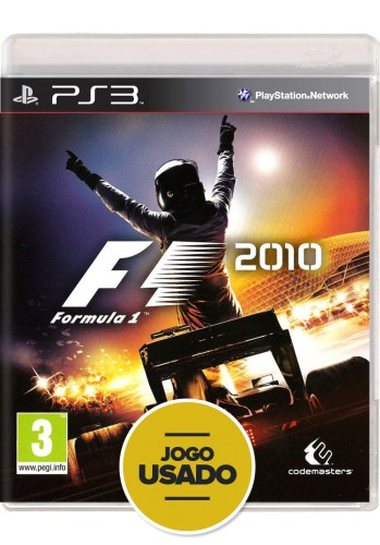 Formula 1 2010 (seminovo) - PS3