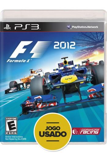 Formula 1 2012 (seminovo) - PS3