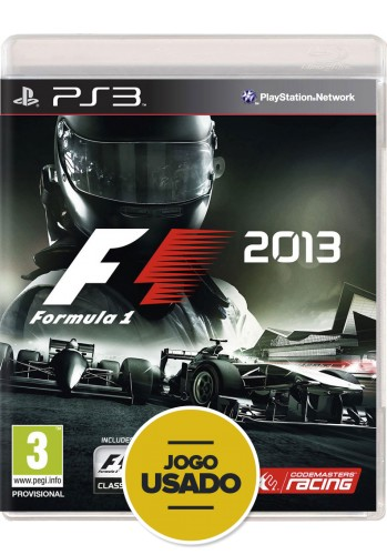 Formula 1 2013 (seminovo) - PS3