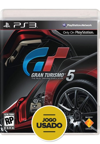 Gran Turismo 5 (seminovo) - PS3