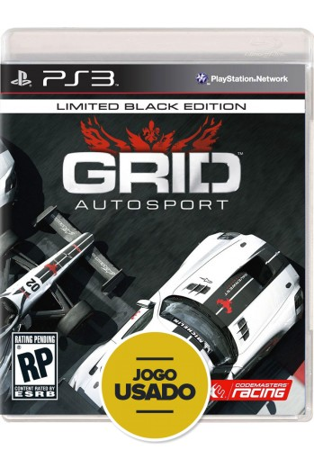 Grid AutoSport (seminovo) - PS3