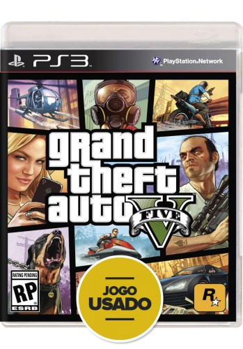 GTA V (Grand Theft Auto) - PS3 ( Usado )