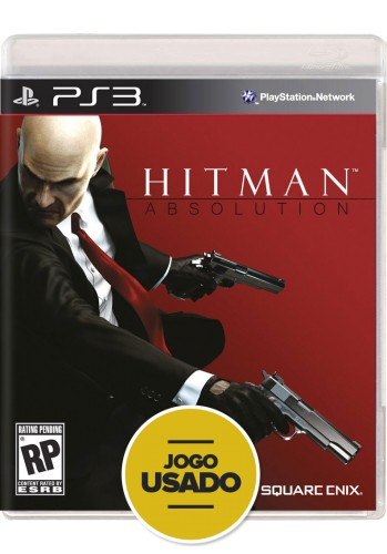 Hitman Absolution - PS3 ( Usado )