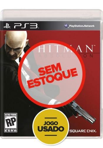 Hitman Absolution - PS3 ( Usado )