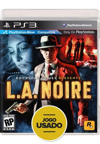L.A. Noire (seminovo) - PS3