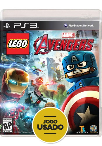 Lego Marvel Vingadores - PS3 (Usado)