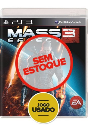 Mass Effect 3 (seminovo) - PS3