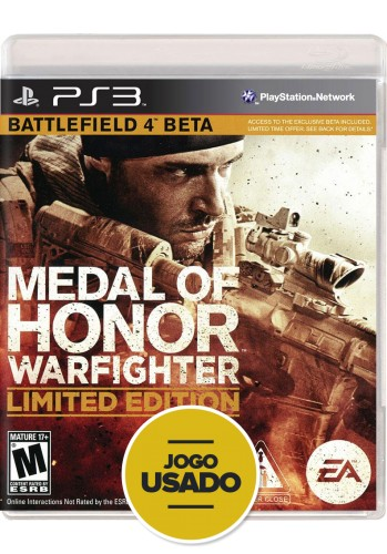 Medal of Honor: Warfighter (seminovo) - PS3