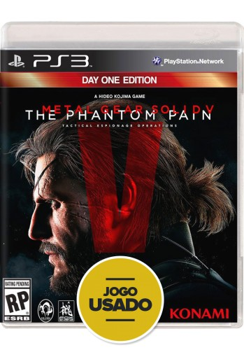 Metal Gear Solid V: The Phantom Pain (seminovo) - PS3