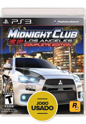 Midnight Club: Los Angeles - Complete Edition (seminovo) - PS3