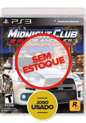 Midnight Club: Los Angeles - Complete Edition (seminovo) - PS3