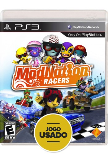 Modnation Racers (seminovo) - PS3