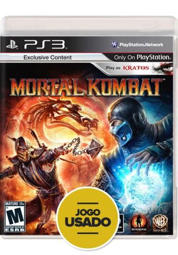 Mortal Kombat (seminovo) - PS3