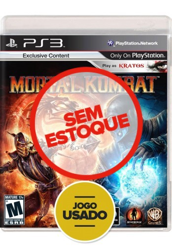 Mortal Kombat (seminovo) - PS3