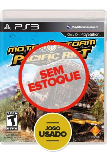 Motorstorm: Pacific Rift (seminovo) - PS3