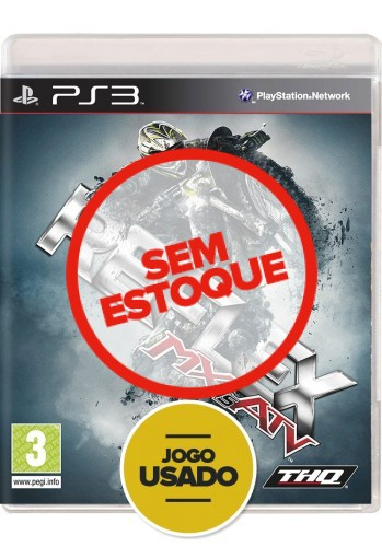 MX vs ATV: Reflex - PS3 (Usado)