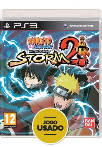 Naruto Shippuden: Ultimate Ninja Storm 2 (seminovo) - PS3