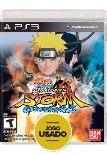 Naruto Shippuden: Ultimate Ninja Storm Generations (seminovo) - PS3