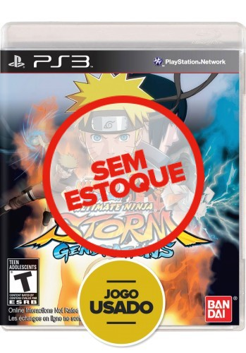 Naruto Shippuden: Ultimate Ninja Storm Generations (seminovo) - PS3