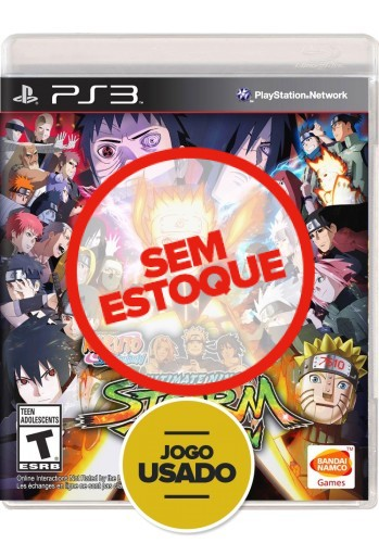 Naruto Shippuden: Ultimate Ninja Storm Revolution - PS3 (Usado)