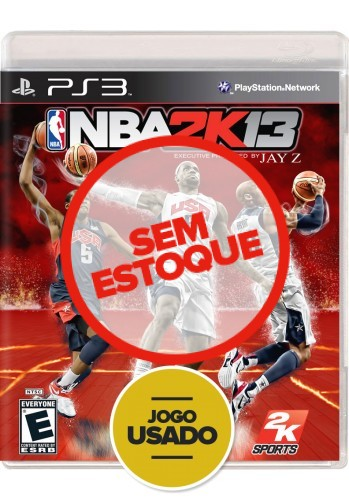 NBA 2K13 (seminovo) - PS3