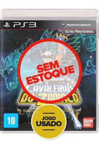 Os Cavaleiros do Zodíaco - A batalha do santuário - PS3 (Usado)