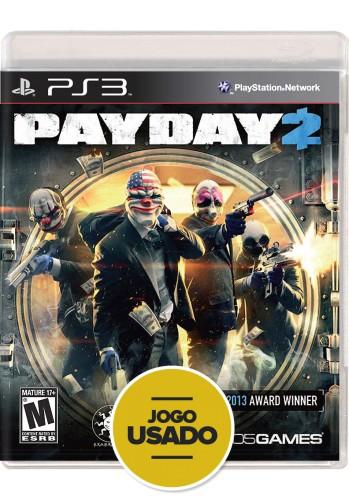 Payday 2 (seminovo) - PS3