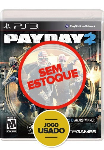 Payday 2 (seminovo) - PS3