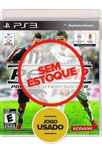 PES 2012 (seminovo) - PS3