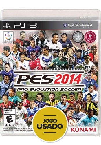 PES 2014 (seminovo) - PS3