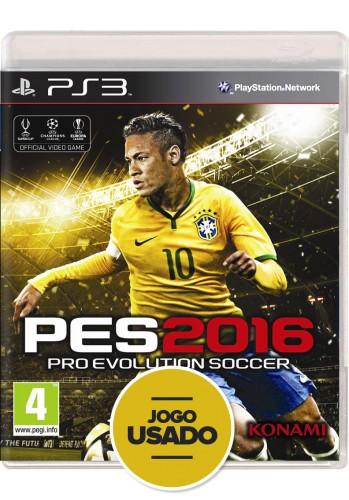Pes 2016 (seminovo) - PS3