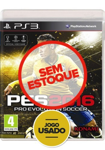 Pes 2016 (seminovo) - PS3
