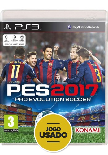 Pes 2017 (seminovo) - PS3
