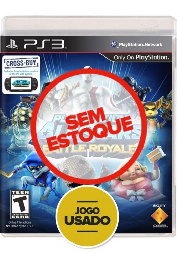 Playstation All-Stars Battle Royale (seminovo) - PS3
