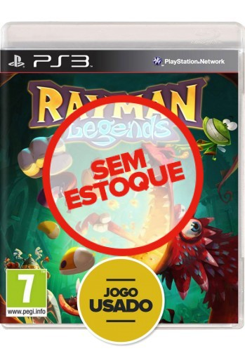 Rayman Legends - PS3 (Usado)