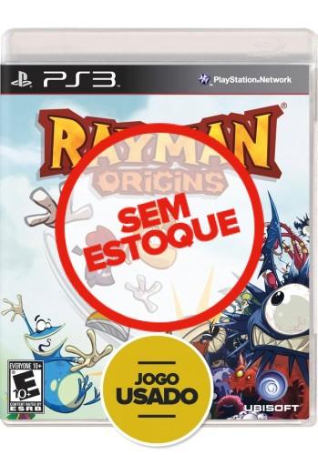 Rayman Origins  (seminovo) - PS3
