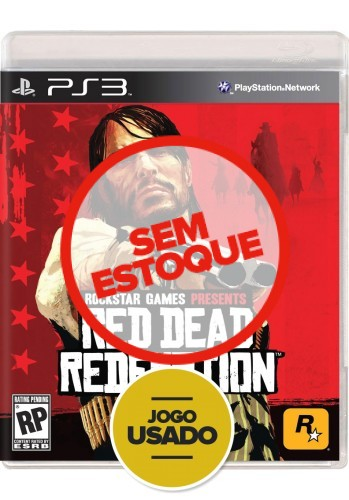 Red Dead Redemption (seminovo) - PS3