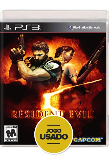 Resident Evil 5 (seminovo) - PS3