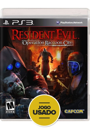Resident Evil: Operation Raccoon City (seminovo) - PS3