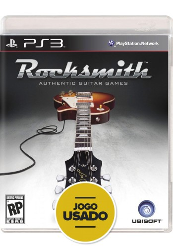 Rocksmith - PS3 ( Usado )