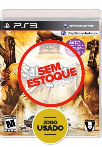 Saints Row 2 (seminovo) - PS3