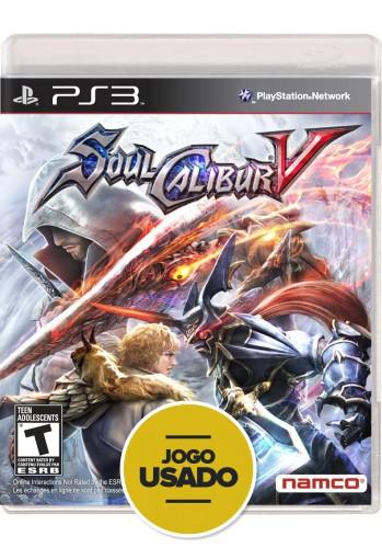 Soul Calibur V (seminovo) - PS3