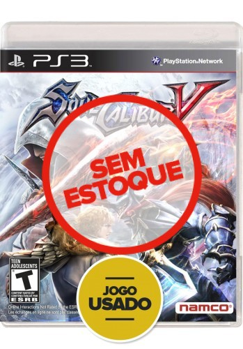 Soul Calibur V (seminovo) - PS3