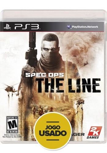 Spec Ops: The Line (seminovo) - PS3